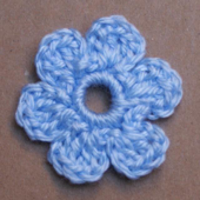 One Dozen Easy Peasy Free Crochet Flower Patterns Flower Applique