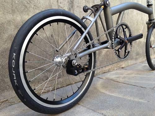 Stockholm Small Wheels Brompton Brompton Bicycle Bike