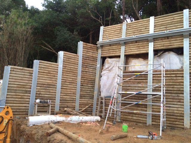 Cll Unilog I Beam Retaining Wall Retaining Wall Types Of Retaining Wall I Beam