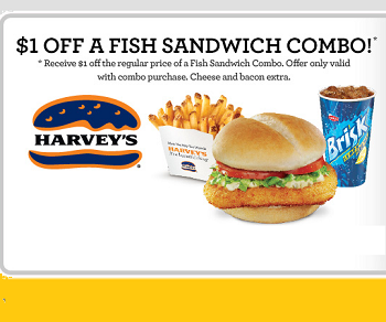 Harveys Coupon Claim Your Harveys Coupons Here Fish Sandwich Harvey S Coupons Canada