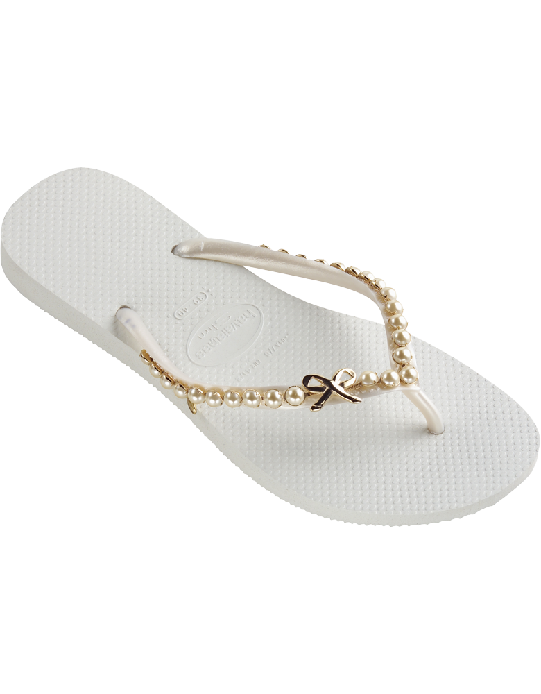 3469507a1e5f Women s SLIM PEARL Havianas Flip Flops- Cute for Reception on the Beach