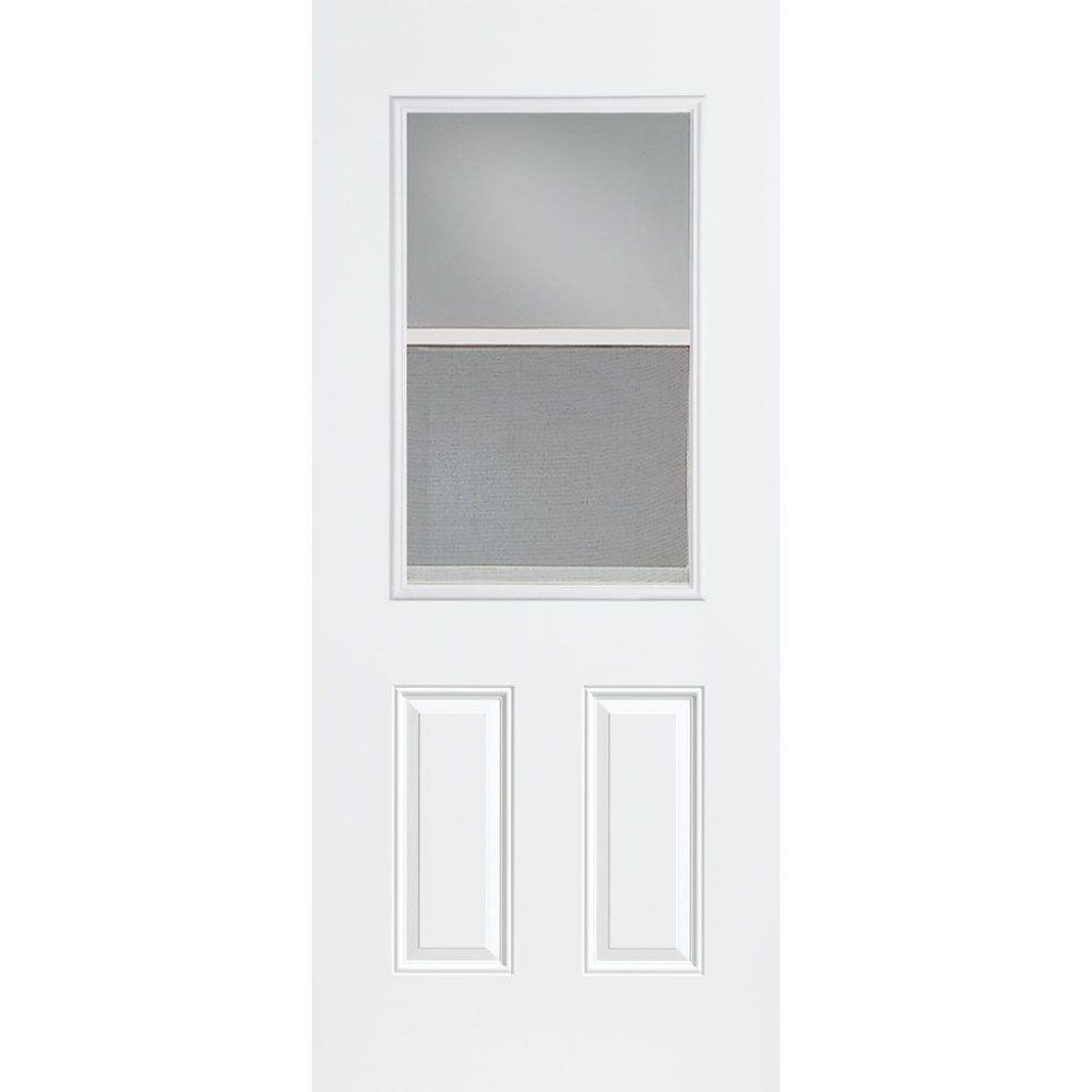 Superbe 30 X 80 Steel Exterior Door With Window