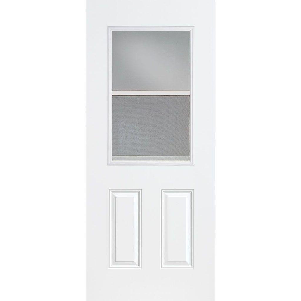 Merveilleux 30 X 80 Steel Exterior Door With Window
