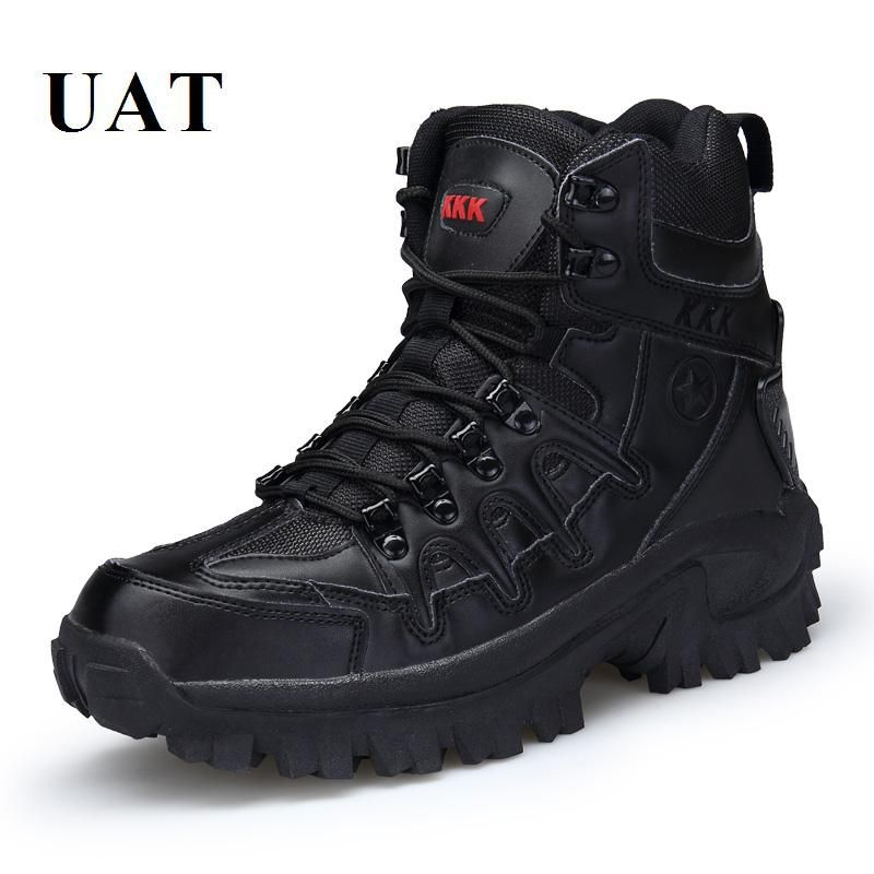 Combat shoes, Winter leather boots