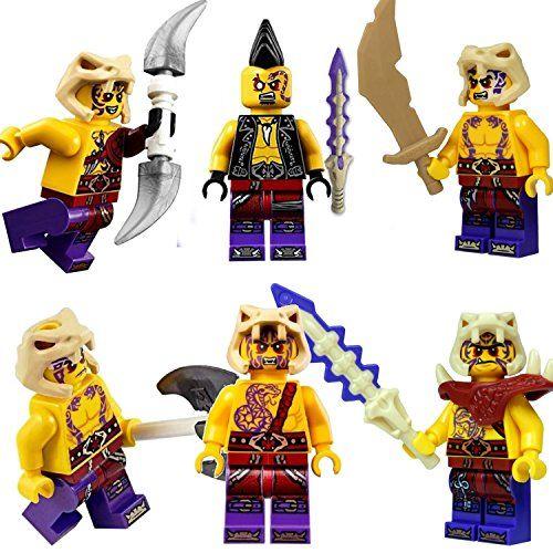 Lego Ninjago Set Of 6 Anacondrai Warriors Zugu Eyezor Krait Kapau Sleven Chope Want To Know More Click On The I Lego Ninjago Ninjago Cool Lego Creations