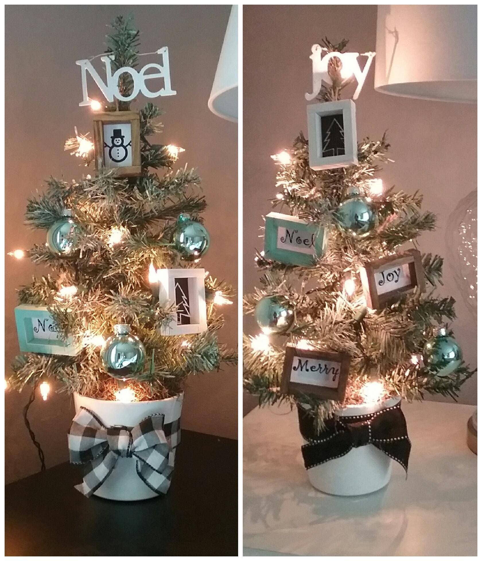 Dollar Tree Diy Mini Christmas Trees Mini White Christmas Tree Mini Christmas Tree Dollar Tree Decor