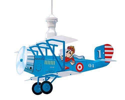 Pilotenzimmer Hangeleuchte In Form Eines Doppeldecker Flugzeuges In 3d Fur Kinderzimmer Deckenlampe Fur Kind Kinder Lampen Lampe Kinderzimmer Kinder Zimmer