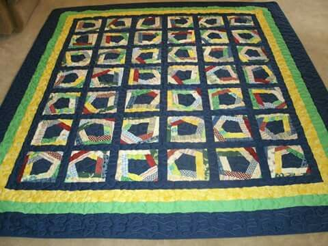 Mom's  2nd quilt