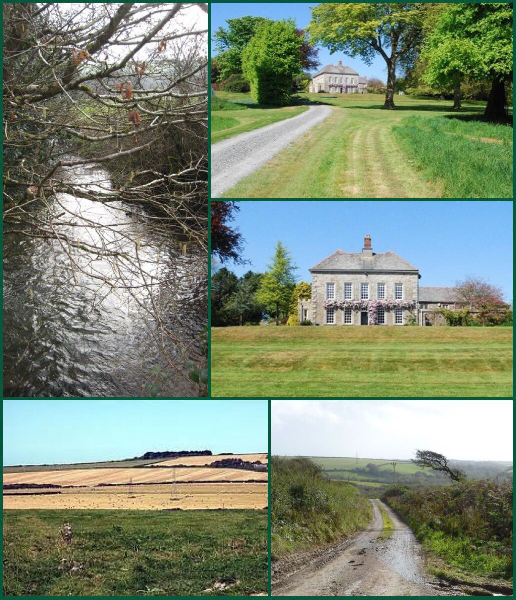 Truthan House Is A House Near St Erme In Cornwall The House Is 18th Century With Some 19th Century Alterations It Has A Fi County House Cornwall House Styles