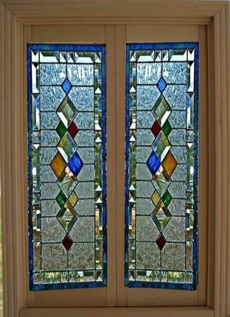 dollhouse miniature artisan leaded glass french doors dollhouse miniatures pinterest. Black Bedroom Furniture Sets. Home Design Ideas