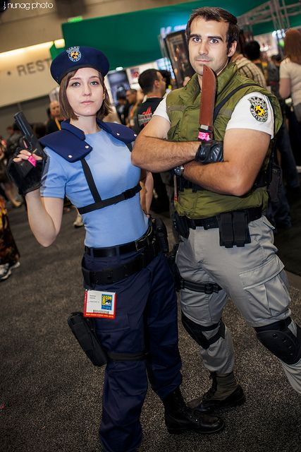 Jill Valentine And Chris Redfield Resident Evil Cosplay