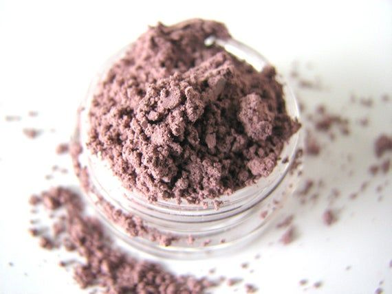 Wild Heather Mineral Eyeshadow - Mineral Makeup  - Mauve - Natural Mineral Cosmetics - Bath and Beauty #mineralcosmetics