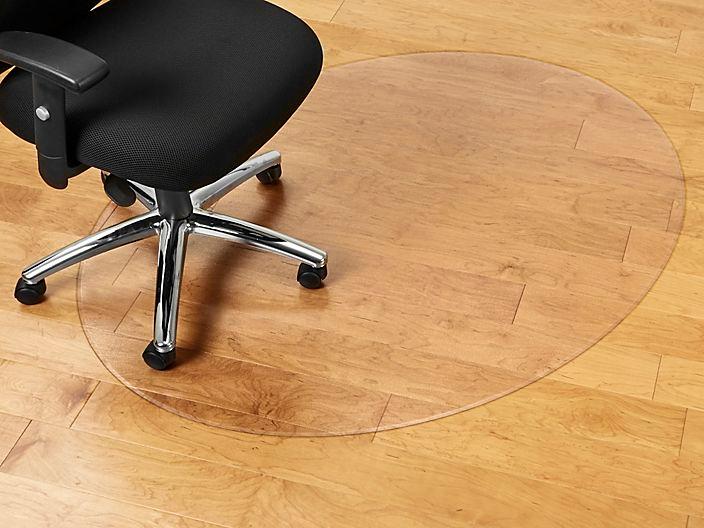 Oval Hard Surface Chair Mat No Lip 60 X 48 H 2340 Uline Chair Mats Chair Surface