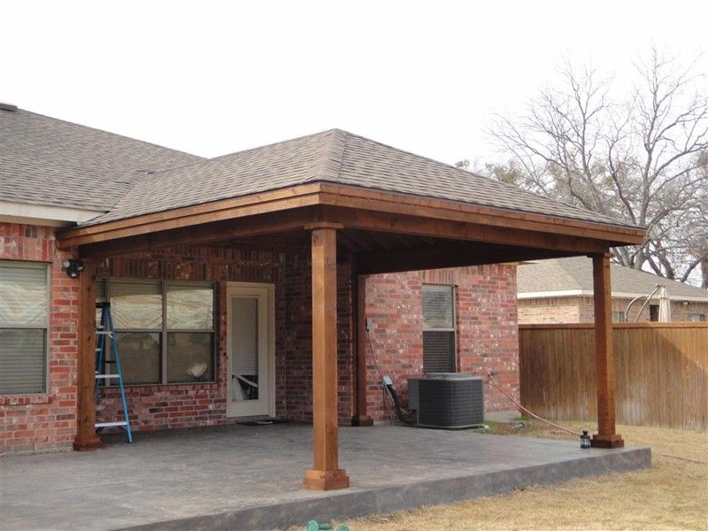 Hip And Ridge Patio Covers Gallery Highest Quality Waterproof Patio Covers In Dallas Plano And Surround Backyard Covered Patios Patio Addition Covered Patio