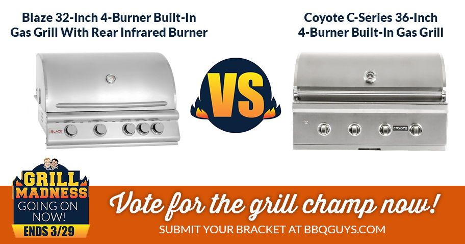 Grill Madness And Bracket Contest 2018 Bbqguys Infrared Grills Grilling Bbq Grill Smoker