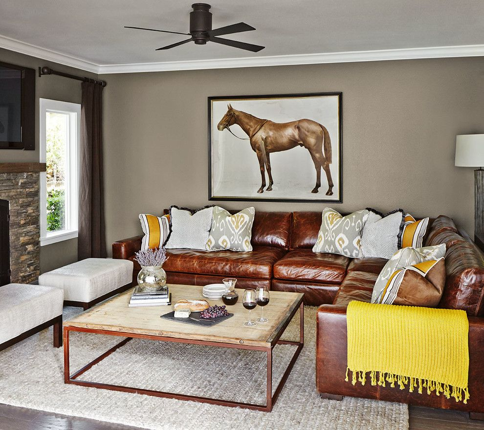 Glamorous Black Leather Couch Decorating Ideas Decor Ideas in Living Room Transitional design ideas with Glamorous & Glamorous Black Leather Couch Decorating Ideas Decor Ideas in ... pillowsntoast.com