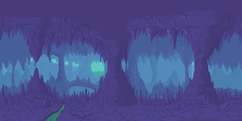 [WIP] Cave Background | Pixel Ard | Pinterest | Cave and RPG