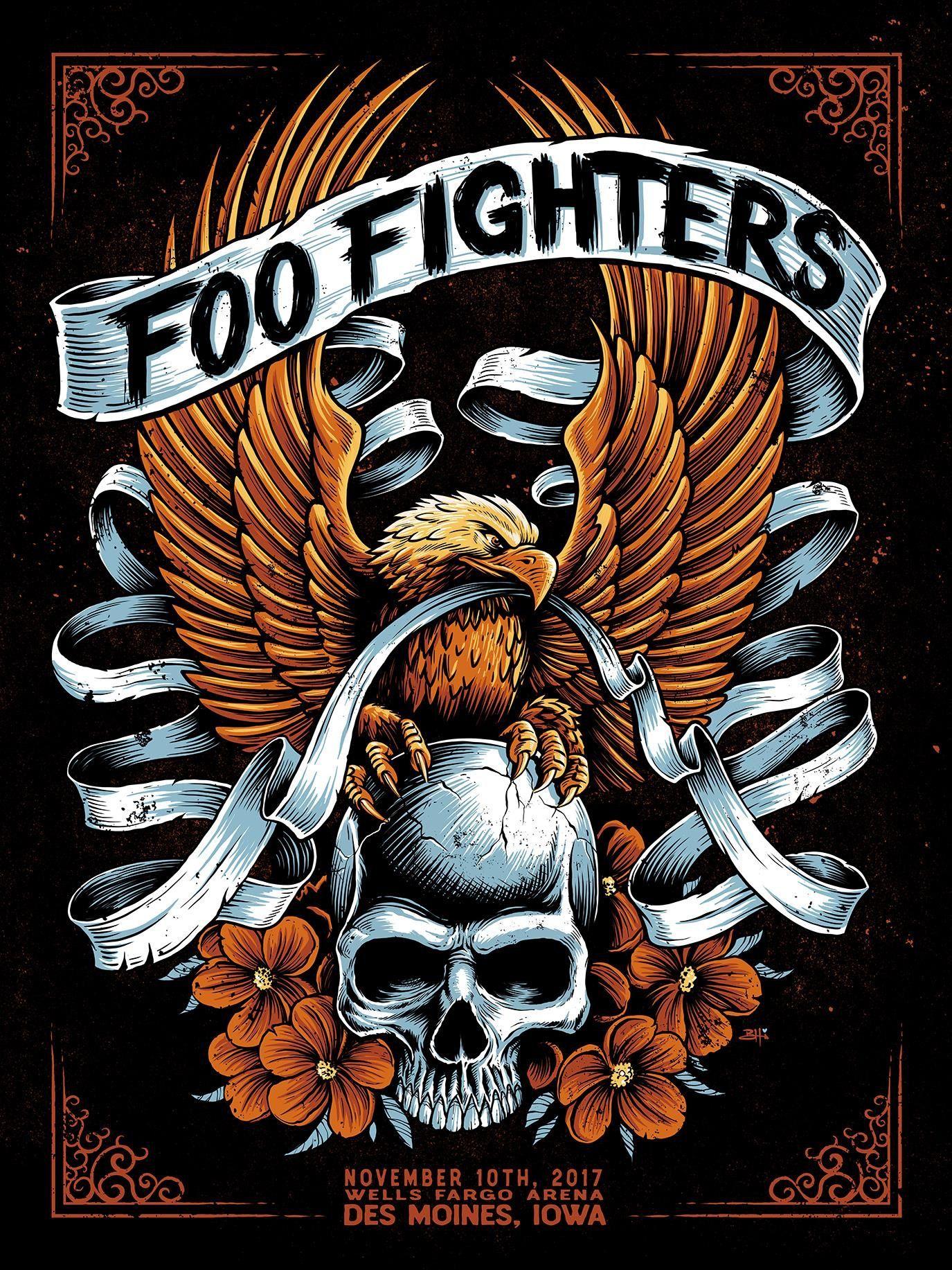 Foo Fighters - Des Moines IA e96434fbbd2