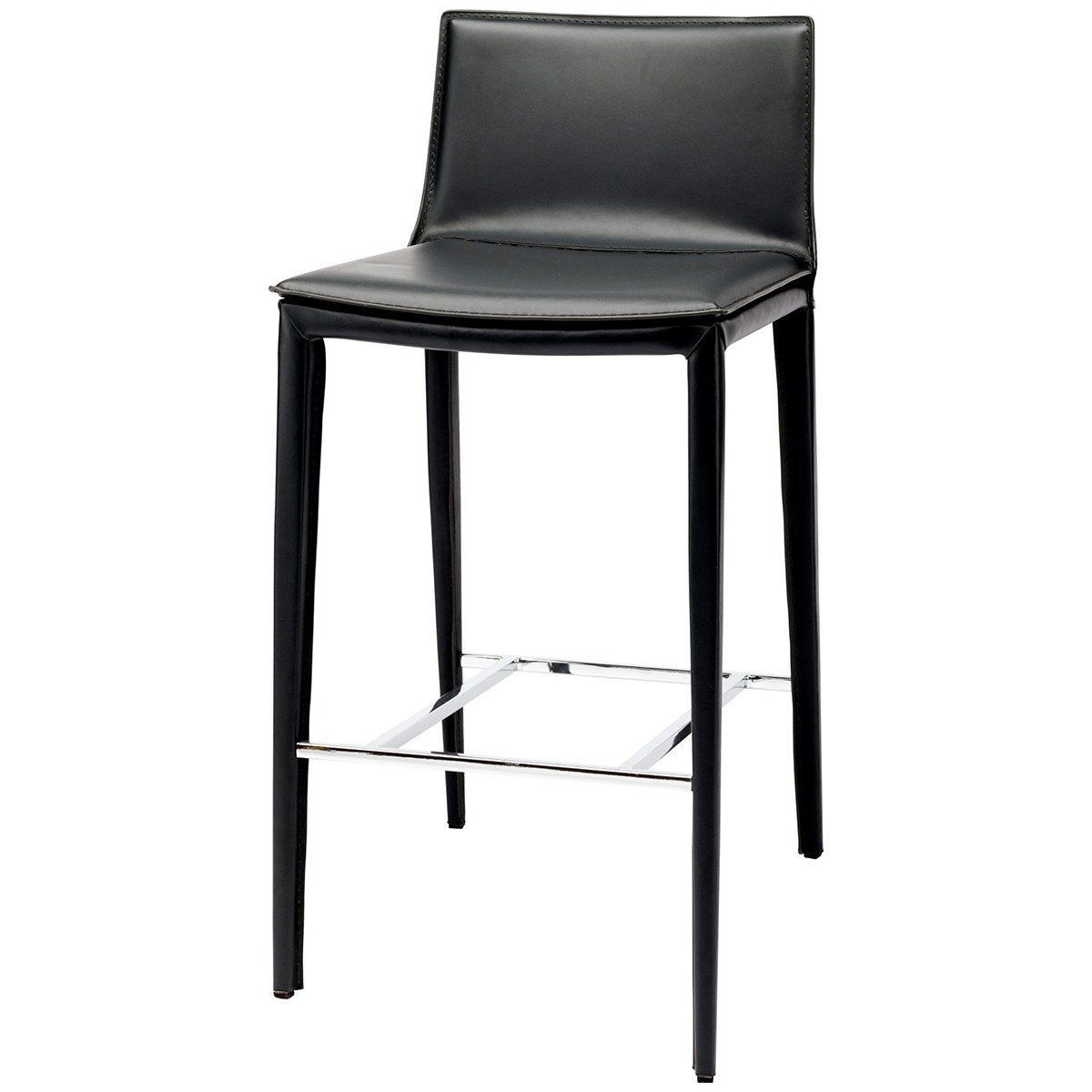 Nuevo Living Palma Bar Stool Products Leather Counter