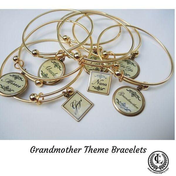 Bracelets for Grandmothers