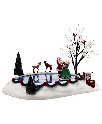 Christmas Village Accessories.Pin On Collectibles