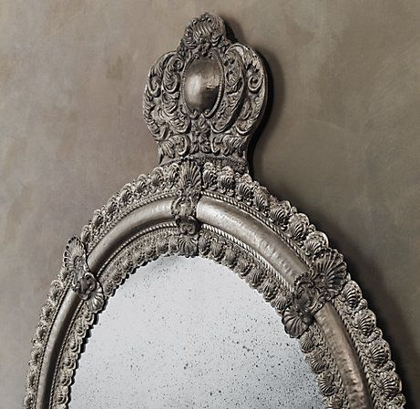 Crown Mirror for the Queen of the Castle.. or Principessa