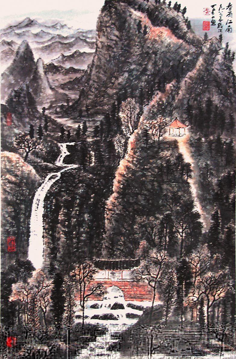 Li Keran Http Www Widewalls Ch Artist Li Keran Contemporary Art