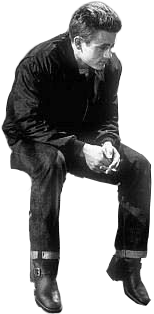 James Dean Sitting Png