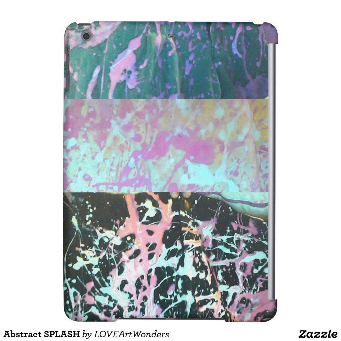 Abstract splash ipad air case with images ipad air