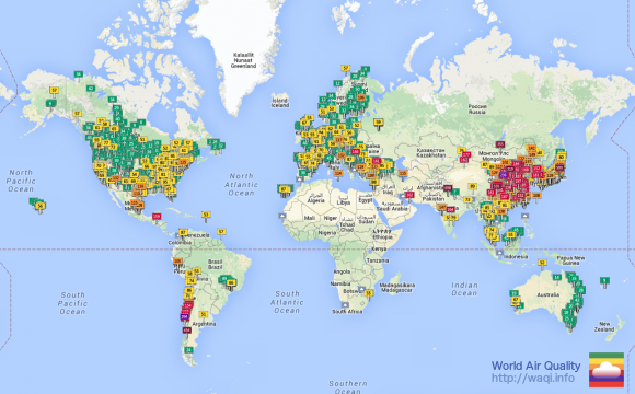 How Bad Is Your City's Air Pollution? This Map Will Tell