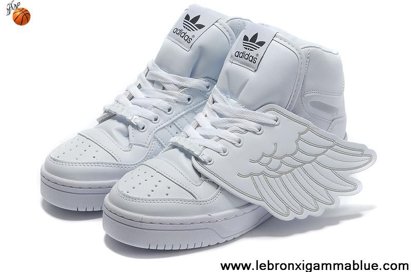 finest selection a037d 18fe3 Buy Latest Listing Adidas X Jeremy Scott Wings Shoes All White