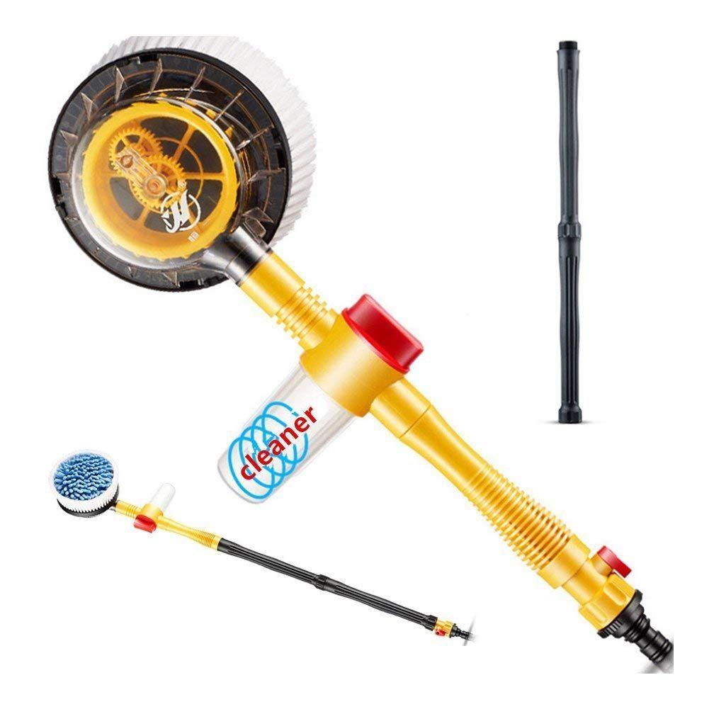 BestTeam Rotating Car Wash Brush, High Pressure Car Foam