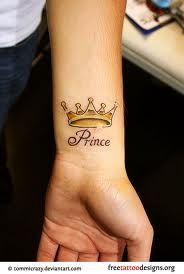 Crowns Tattoo Meaning Google Search Prince Tattoos Crown Tattoo On Wrist Crown Tattoo