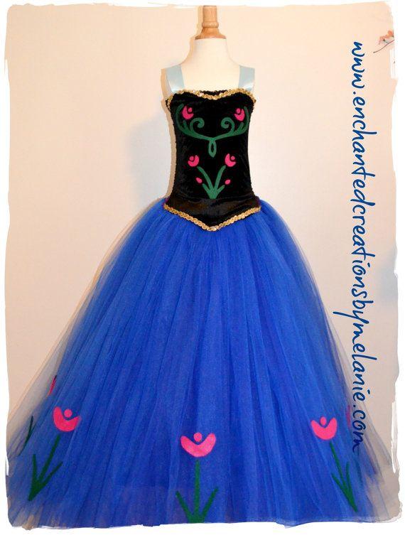Anna Tutu Dress With Cape From The Disney By EnchantedbyMelanie