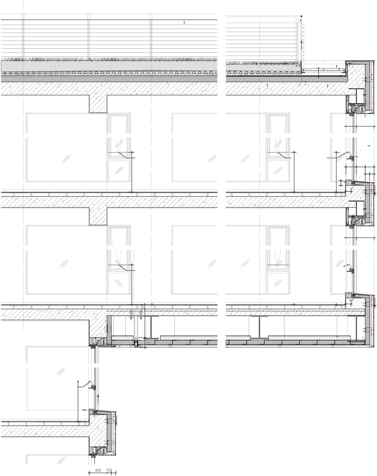 Cantilever section CLEAN  Details Architecture  Steven