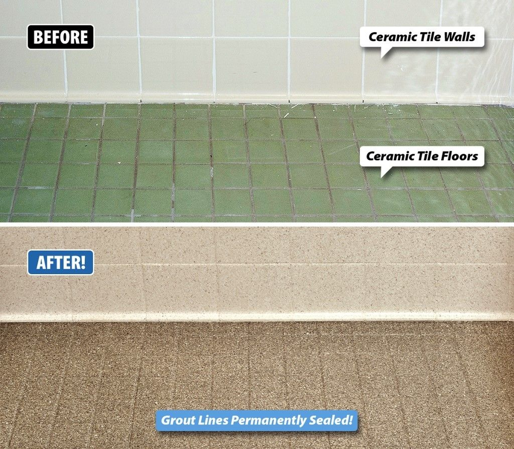 Stained Grout Is Not Only Unsightly But It Can Also Be Unsanitary Grout Is Very Porous And Can Small Bathroom Tiles Bathroom Refinishing Ceramic Floor Tiles