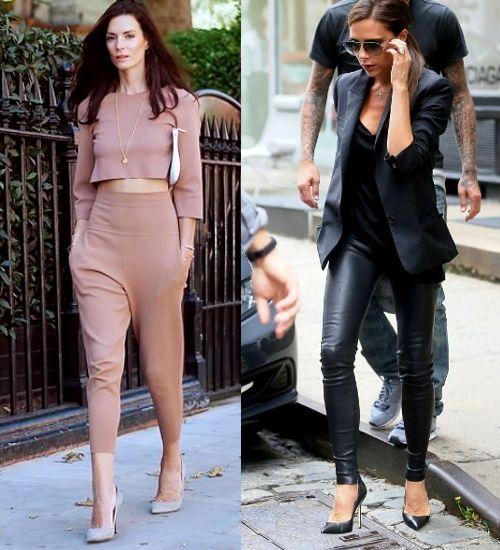 11 Sposobow Jak Optycznie Wydluzyc Nogi Fashyou Pl Fashion Leather Pants Stylists