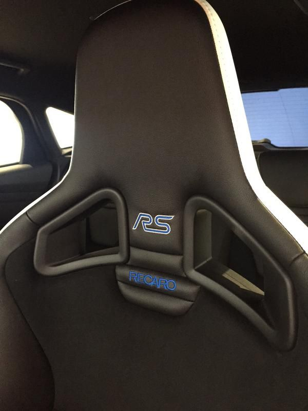 Recaro Seats In The New Focusrs Ford Focus Focus Rs Ford Focus Rs