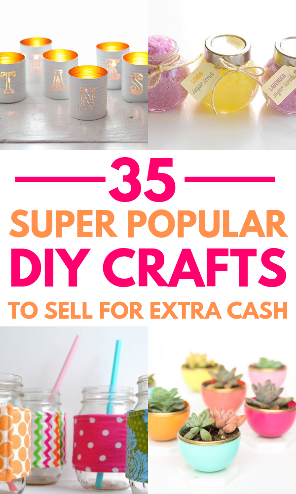 32 Handmade Craft Ideas To Sell These Awesome Diy Projects To