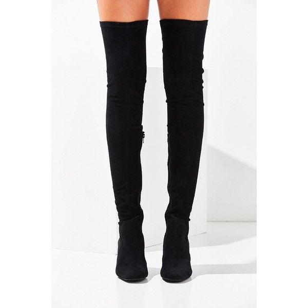cb5a2273668 Jeffrey Campbell Cienega Over-The-Knee Boot ( 190) ❤ liked on Polyvore  featuring shoes