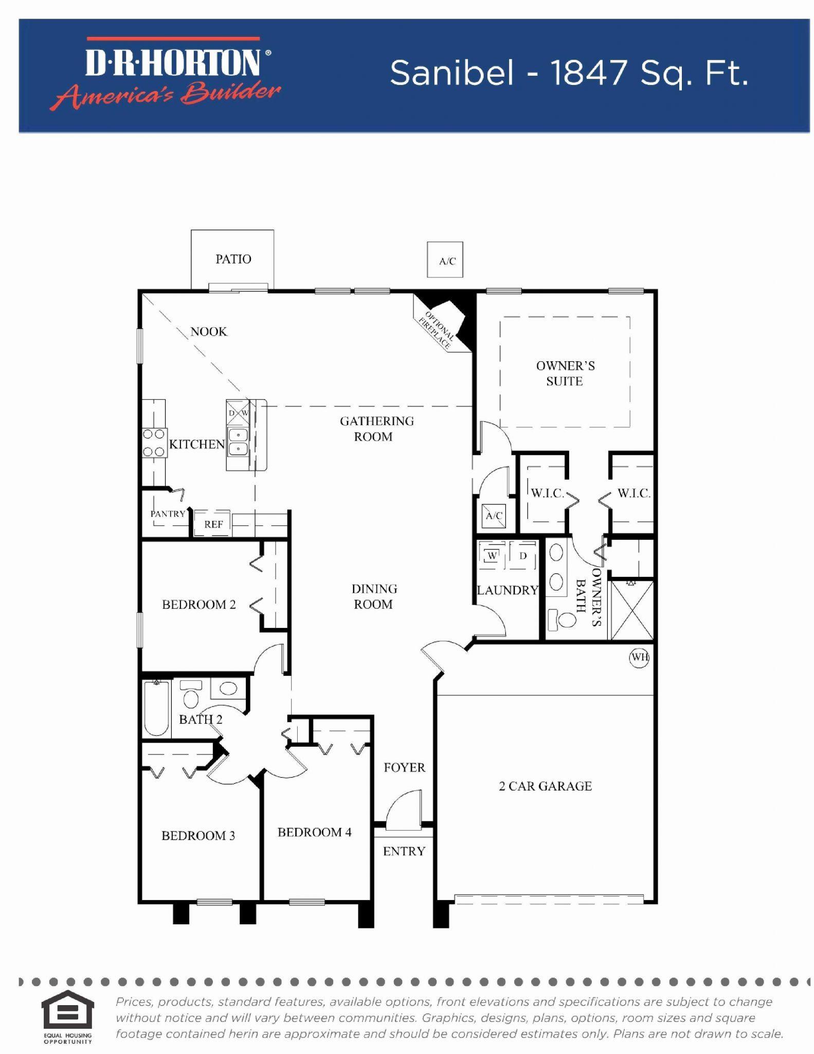 Dr Horton Houston Floor Plans Check more at horton houston fl