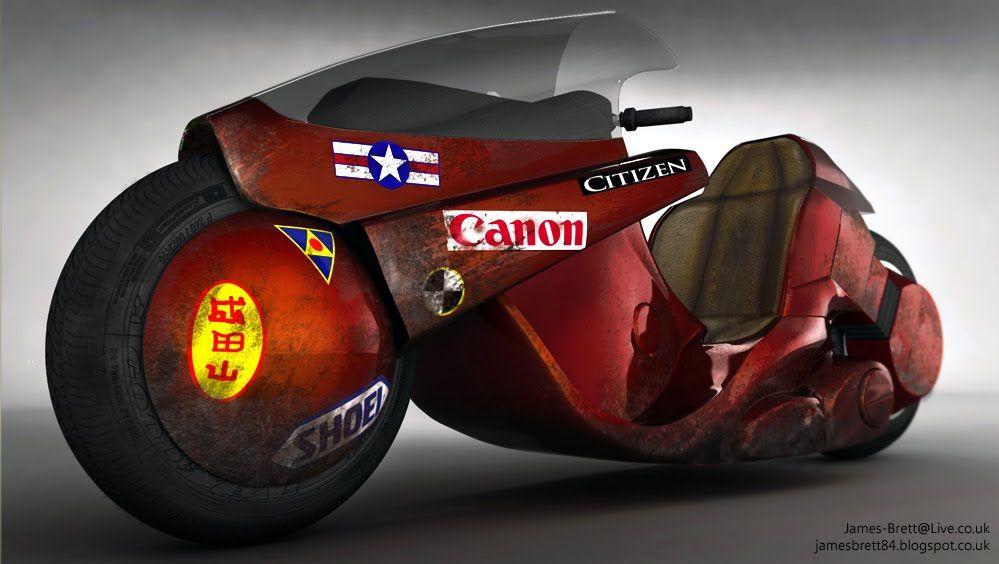 Akira Kaneda S Bike Replica Dream Machines Pinterest Dream