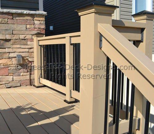 deck railing ideas | deck railing ideas styles for top and bottom ... - Patio Railing Ideas