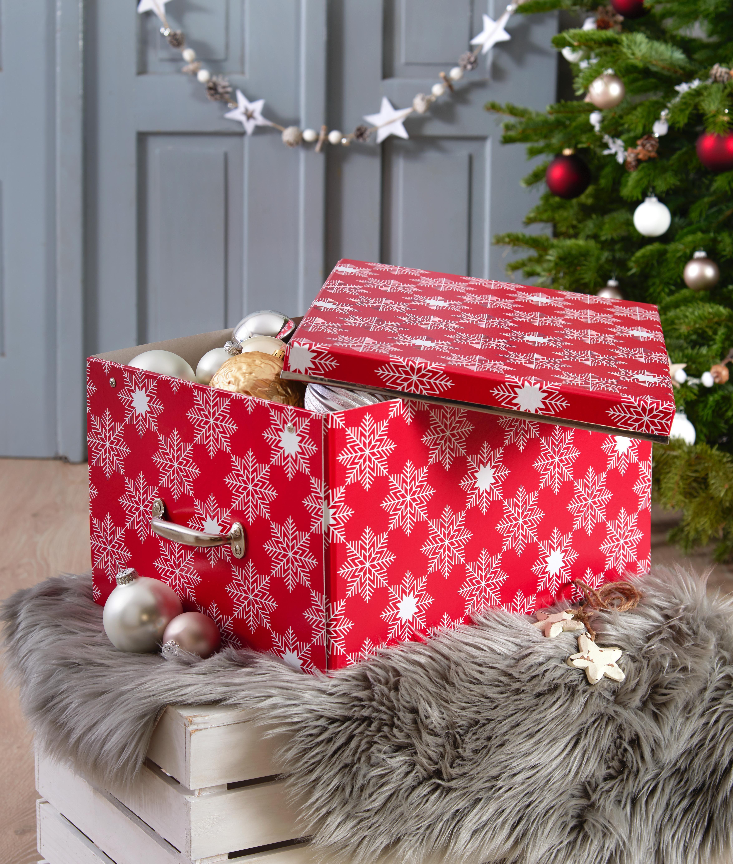 Aufbewahrungsbox Weihnachtskugeln.Aufbewahrungsbox Für Weihnachtskugeln Und Deko Weihnachtsdeko
