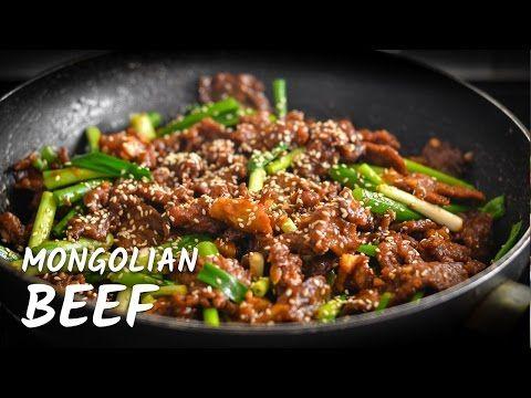 P F Chang S Mongolian Beef Recipe Youtube Mongolian Beef Crockpot Recipes Beef Mongolian Beef And Broccoli Recipe
