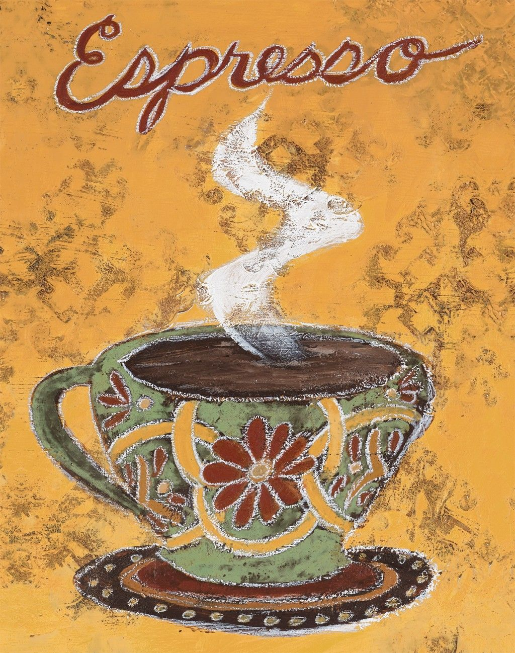 International Espresso Amor De Un Cafe Laminas Para Decoupage Teteras