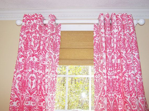 Fuschia CurtainsHot PINK CURTAINS HousewaresCurtain Panels Pink Flamingo