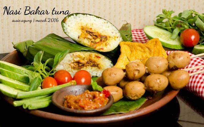 Resep Nasi Bakar Tuna Pedas Oleh Susi Agung Resep Masakan Masakan Indonesia Resep Tuna