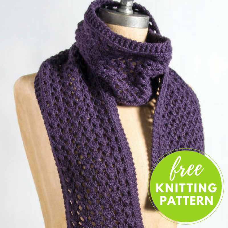 Extra Quick And Easy Scarf Free Knitting Pattern Baby Alpaca
