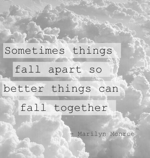 All Things Fall Apart Plot: Story Of My Life Right Now. Everything Is Finally Coming